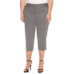 Worthington® Sateen Cropped Pants 21
