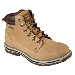 Skechers® Amson Mens Lace-Up Ankle Boots