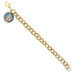 1928 Symbols Of Faith Religious Jewelry Womens 7 1/4 Inch Chain Bracelet