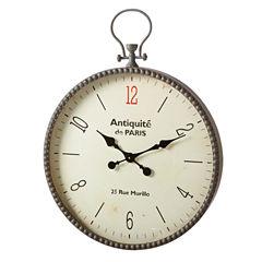 Gray Dot Antique De Paris Wall Clock
