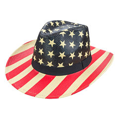 Americana Stars and Stripes Cowboy Hat