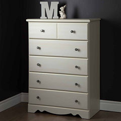 Country Poetry 5-Drawer Chest