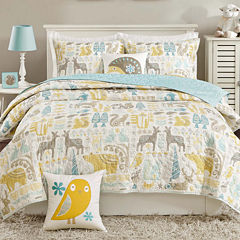 INK+IVY Kids Woodland Coverlet Set & Accessories