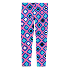 Okie Dokie Pattern Knit Leggings - Preschool Girls