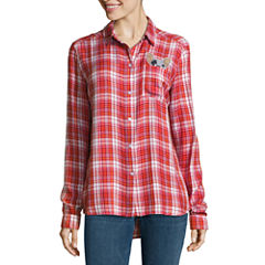 Plaid Tops for Women - JCPenney
