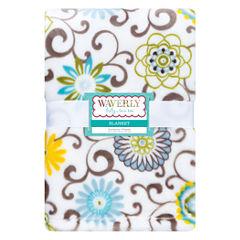 Trend Lab Waverly Pom Pom Spa Receiving Blanket