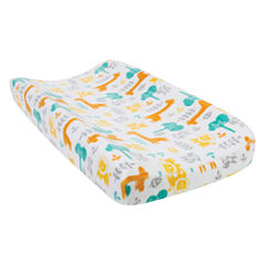 Trend Lab Lullaby Jungle Plush Changing Pad Cover