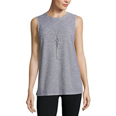Alyx Texture Neck Lace Swing Tank