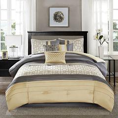 Madison Park Jeffrey 7-pc. Comforter Set