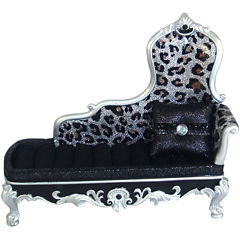 Leopard-Print Sofa Jewelry Box