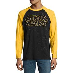 Long Sleeve Star Wars Tv + Movies Graphic T-Shirt