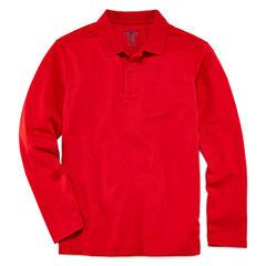 IZOD® Long-Sleeve Performance Polo - Preschool Boys 4-7