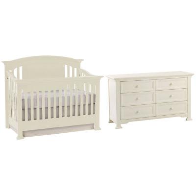 Superior Centennial Medford 2 PC Baby Furniture Set  White