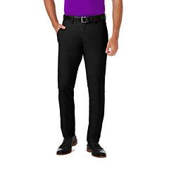 Haggar Cool 18 Pro Slim Fit Flat Front Pants