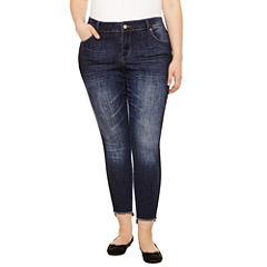 Indigo Rein Skinny Fit Jean-Juniors Plus