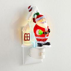 North Pole Trading Co. Santa Night Light