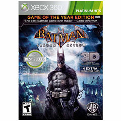 Batman Arkham Asylum Goty Ninjago Video Game-XBox 360