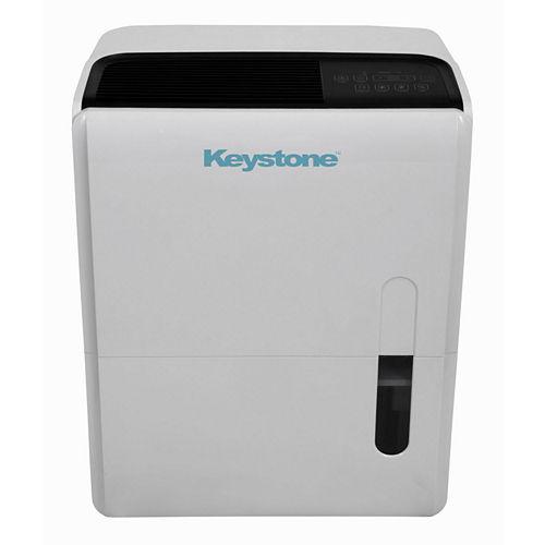 Keystone 95-Pint Dehumidifier with Built-In Pump