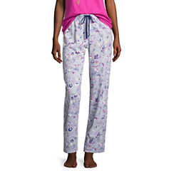 Sleep Chic Printed Knit Pajama Pants