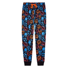 Arizona Sport Print Jogger Sleep Pant - Boys 4-20 & Husky