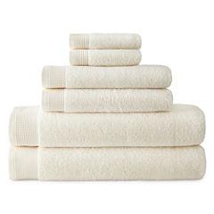 Liz Claiborne Superb Microcotton 6-pc Towel Set