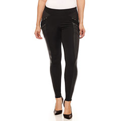 Bisou Bisou Lace Up Pants