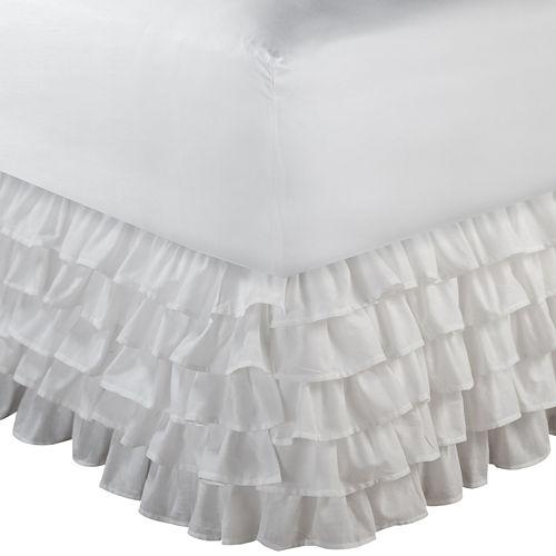 Greenland Home Fashions Multi-Ruffle 15 Bedskirt