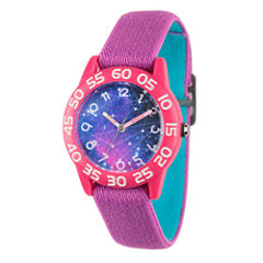 Discovery Kids® Purple Galaxy Watch