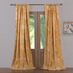 Barefoot Bungalow Samsara Rod-Pocket Curtain Panel