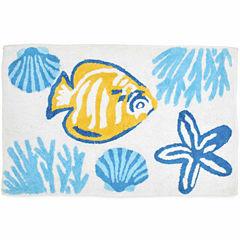 Destinations Barbados Bath Rug
