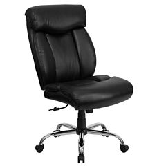 Contemporary Big & Tall Leather Office Chair
