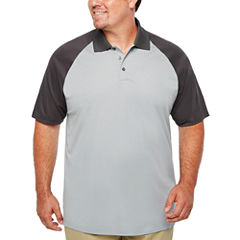 The Foundry Big & Tall Supply Co. Quick Dry Short Sleeve Polo Shirt Big and Tall