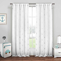 Lala+Bash Ahoy 2-Pack Curtain Panel