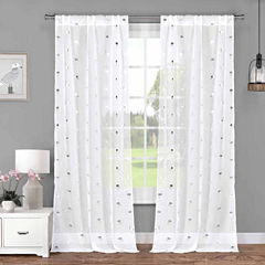 Lala+Bash Sandie 2-Pack Curtain Panel
