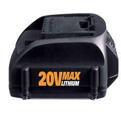 WORX 20-volt Lithium Battery 2.0Ah