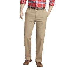 IZOD Straight-Fit Flat-Front Chinos