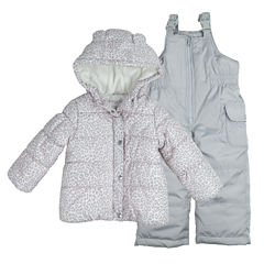 Carter's Heavyweight Leopard Snow Suit-Baby Girls