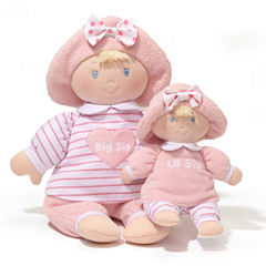 Gund Big Sis And Lil Sis Doll Stuffed Animal
