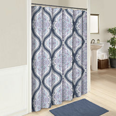 Marble Hill Lotus Shower Curtain