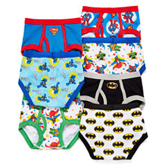Superfriends 7-pk. Briefs - Toddler Boys 2t-4t