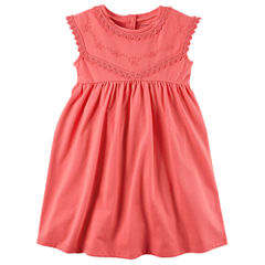 Carter's Short Sleeve A-Line Dress - Toddler Girls