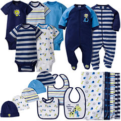 Gerber® 19 Piece Baby Boy Jungle Layette Gift Set