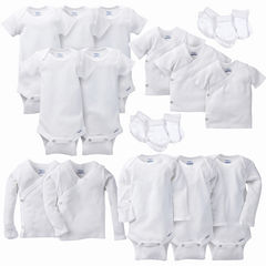 Gerber® 19 Piece White Layette Gift Set