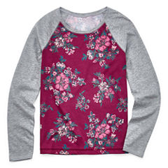 Arizona Long Sleeve T-Shirt-Big Kid Girls
