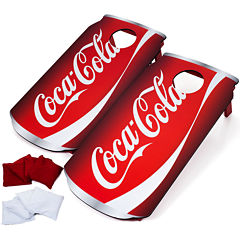Trademark Games™ Coca-Cola® Cornhole Game