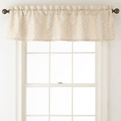 Royal Velvet® Palladio Rod-Pocket Lined Valance