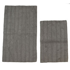 Castle Hill London Linear Reversible 2-pc. Bath Rug Set