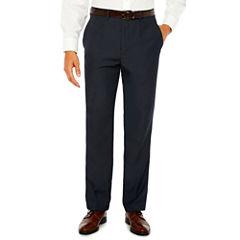 Stafford Flat Front Classic Fit Dress Pants