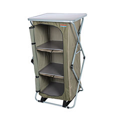 Sierra Single Camp Cupboard Folding Table