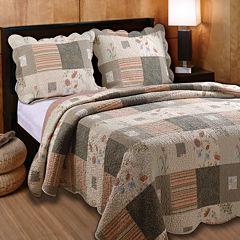 Greenland Home Fashions Sedona Western Quilt Set